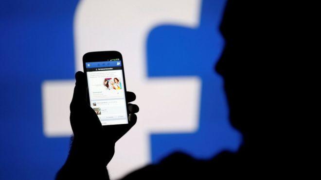 Facebook sur téléphone