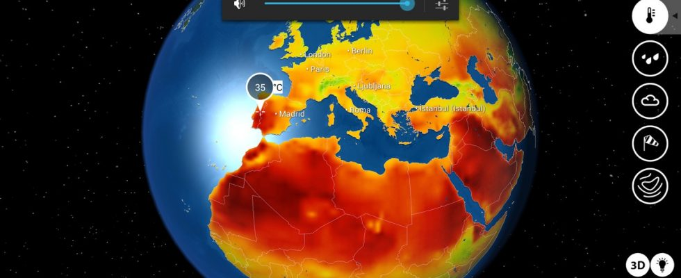MeteoEarth iPad